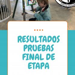 RESULTADOS PRUEBAS FINAL DE ETAPA